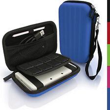 Blau Hart Tasche Schutzhülle fur Nintendo 3DS XL 3DSXL Alle Version Etui Case