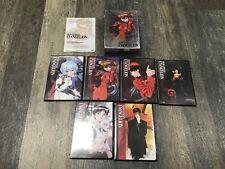 Neon Genesis Evangelion Platium Complete 1-6 DVD box set RARE!