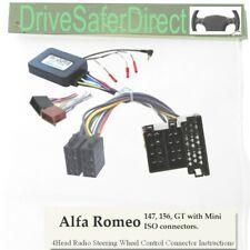 SWC-0051-03J Stalk Control,ISO-JOIN for Chinese,Eonon Radio/Alfa Romeo GT 04-08