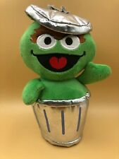 Sesame Street Oscar The Grouch Plush Kids Soft Toy Doll Stuffed Animal Muppet