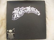 JEFF WAYNE'S WAR OF THE WORLDS BOX SET some parts missing!! lp's n/m Holland