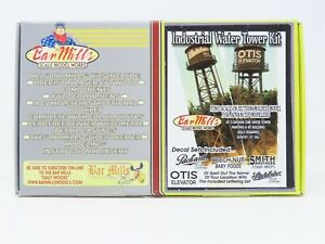 HO 1/87 Scale Bar Mills Kit #0132 Industrial Water Tower Building - Sealed