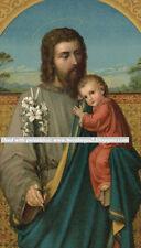 St Joseph SPANISH Novena Prayer Card (wallet size)