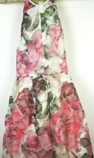 ASOS high neck midi  dress with cut outs and embroidery and lace uk 8 new / tags