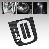 Black Carbon Fiber Gear Panel Sticker DSG Decal fit forVW Golf MK6 GTI R20 AT