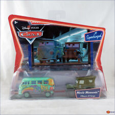 Disney Pixar Cars Fillmore Sarge Movie Moments Supercharged series - worn pack