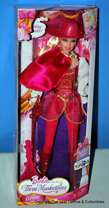 2008 Barbie & Three Musketeers Corinne DOLL TOYSRUS EXCLUSIVE CAPE OUTFIT NRFB!
