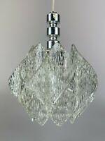 60er 70er Jahre Lampe Leuchte Deckenlampe Acryl Lamp Space Age Design Kunststoff
