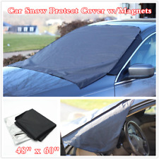 Car Truck Windshield Snow Cover Ice Frost Magnetic Tarp Flap SunShade Protector