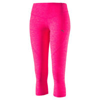 Puma Ladies Yogini Cropped Leggings with dryCELL Finish in Pink - 37% OFF RRP