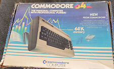 Commodore 64 Computer W Cables, Box, Papers & Manual 1984