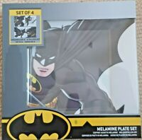 Funko Batman Melamine Square Plate Set of 4, DC Batman Dinner Plate New & Sealed