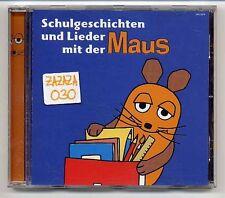 Maus CD Schulgeschichten und original Lieder aus Die Sendung Mit Der Maus