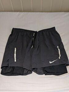 NikeDistance 2-in-1 Running Shorts Men Black