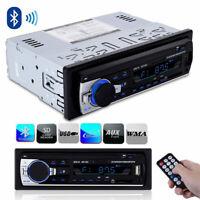 Car Stereo Audio BT In-Dash FM Aux Input Receiver TF/USB/MP3 Radio Player