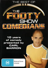 THE BEST OF THE FOOTY SHOW COMEDIANS VOLUME 1 DVD BRAND NEW SEALED CARL BARRON!