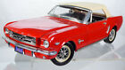 Mira 1964 Ford Mustang 1:18 Rare Red Vintage Toy Collectible Car Convertible