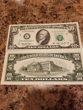$10 Federal Reserve note series 1993 C* UNC65