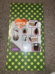 ASPCA Cardboard Gingerbread Cat House With Scratch Floor Catnip Included New