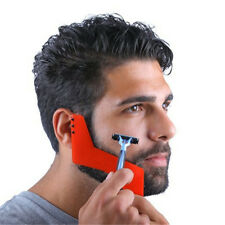 Mens Comb Beard Shaping Tool Gentlemen Beard Trimmer Template Molding Cut Comb