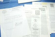 Canal Zone Philatelist Newsletters and other info BlueLakeStamps Good old days!