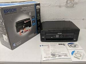 Epson Expression Home XP-320 Sublimation Capable Printer w/ Box Manuals & Discs