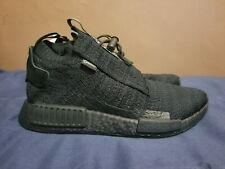 New Adidas NMD_TS1 PK GTX Gore-Tex Triple Black Mens Size 7 AQ0927 PrimeKnit