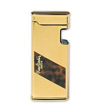 Pierre Cardin Sensor gas lighter Golden trim Chiselled MFH-102-03