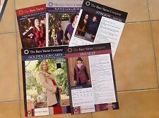 KNITTING PATTERNS :: 5 ASSORTED RARE YARNS COMPANY PATTERNS  were $6-$7.95 each