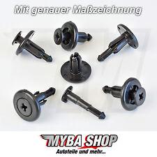 10x Dachspoiler Rückleuchten Halterung Spreiznieten Clip für Subaru | 90914-0012