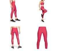 Under Armour Women's Leggins UA Vanish Mesh Crop Pink, Size M