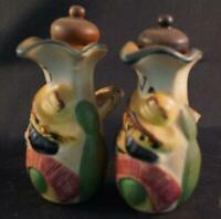 Vintage Fruit Pitchers Salt and Pepper Shaker Set made in Japan