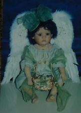 LINDA VALENTINO MICHEL Porcelain Doll DAWN Boxed MASTERPIECE GALLERY Angel