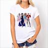 Wholesale Fashion Women's Casual T-shirt Round Neck Short Sleeve T-Shirts