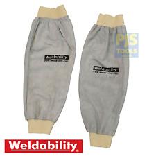 "1 pair 18"" chrome leather welders sleeves welding & brazing"
