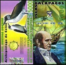 Galapagos Billet  5000 NUEVOS SUCRES 2009 PENGUIN  UNC NEUF