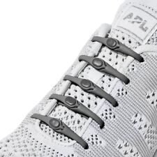 b588e643c988 HICKIES 2.0 Elastic Responsive Lacing System 14 Laces No Tie One Size -  Charcoal