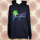 Gucci-Black-Hawaii-Graphic-Hoodie-Sweatshirt-Size-3XL-626989-Logo-Cotton-Retro