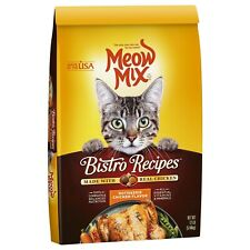 Meow Mix Bistro Recipes Dry Cat Food Rotisserie Chicken 12 Lb. Bag