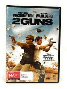 2 Guns (DVD, 2013) Denzel Washington Mark Wahlberg Region 4 Free Postage