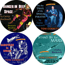 Tom Corbett Space Cadet LOT of 4 MP3 (READ) CD Audiobook SCI-FI