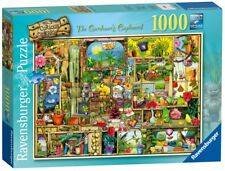 The Curious Cupboard No.3 1000pc Jigsaw Puzzle (The Gardener's Cupboard) [Puzz