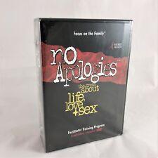 Focus on the Family No Apologies Facilitator Training Program 6 DVD SET