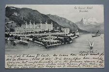 R&L Postcard: Le Grand Hotel Territet Switzerland