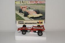 + POLISTIL FX-6 FX6 FX 6 LOTUS TURBO INDIANAPOLIS F1 RACING CAR RED MINT BOXED