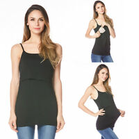 New Arrival Maternity Breastfeeding Nursing Vest Cami Tank Top/Shirt