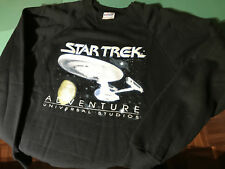 Felpa Sweatshirt Star Trek Adventure Universal Studios Original USA 1990 L 42-44