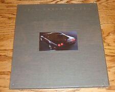 1991 Chevrolet Corvette ZR-1 Deluxe Sales Brochure w/Hard Protective Case 91