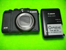 CANON POWERSHOT G15 12.1 MEGA PIXELS DIGITAL CAMERA BLACK
