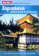 Berlitz Japanese Phrase Book & Dictionary ( Berlitz ) Used - VeryGood